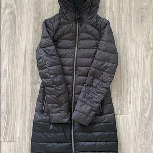 Lululemon Women's Two-toned Parka Coat Size 2